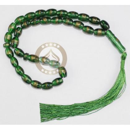MUSLIMAH GIFT SET (SEJADAH + TELEKUNG + PERFUME + TASBIH) GREEN