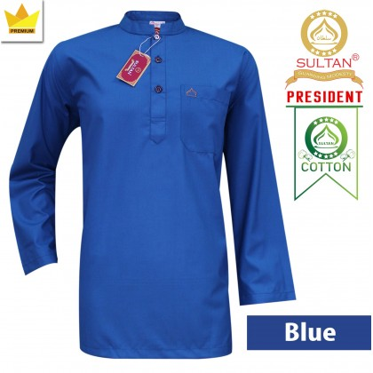 SULTAN KURTA - PRESIDENT - COLLAR FULL SLEEVES