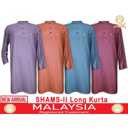 SULTAN LONG KURTA - SHAMS-II - COLLAR FULL SLEEVES