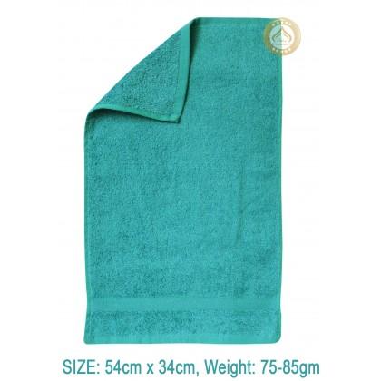 TUALA KAPAS - COTTON TOWEL 54CM x 34CM, 75GM - 85GM NETT