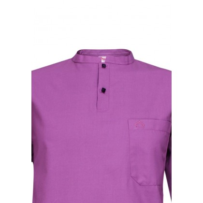 SULTAN KURTA LELAKI / MEN'S- PRESIDENT - COLLAR HALF SLEEVES