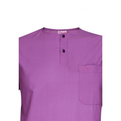 SULTAN KURTA LELAKI / MEN'S- PRESIDENT - ROUND NECK HALF SLEEVES