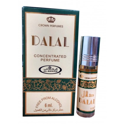AL Rehab Concentrated perfume oil - Roll on Bottle 6ML - 6ps - DALAL