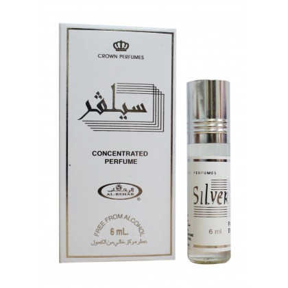 AL Rehab Concentrated perfume oil - Roll on Bottle 6ML - 6ps - Silver