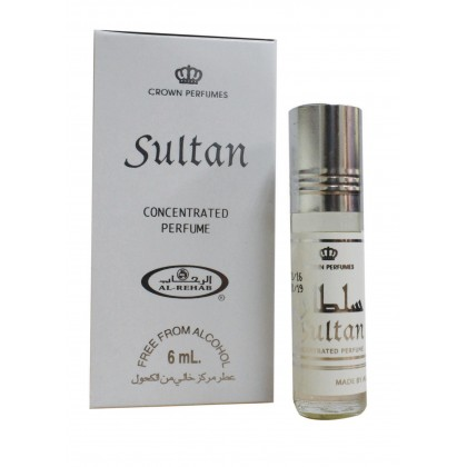 AL Rehab Concentrated perfume oil - Roll on Bottle 6ML - 6ps - Sultan