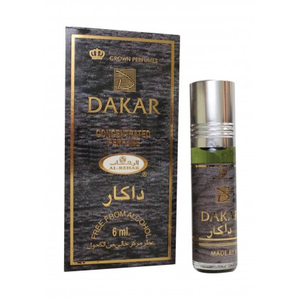 AL Rehab Concentrated perfume oil - Roll on Bottle 6ML - 6pcs - Dakar