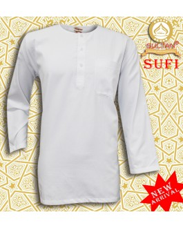 SULTAN KURTA - SUFI - ROUND NECK FULL SLEEVES