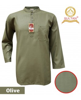 SULTAN KURTA - ARAFAT - COLLAR FULL SLEEVES