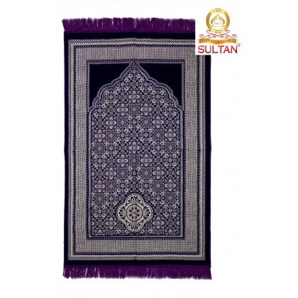 MUSLIM PRAYING MATS - PREMIER SILVER - SEJADAH - MADE IN TURKEY