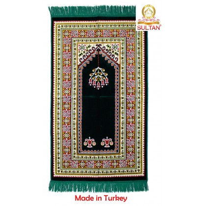 SEJADAH PREMIER VELOUR - MUSLIM PRAYING MATS - MADE IN TURKEY