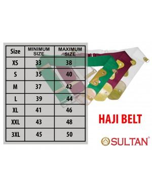 Haji Belt / Tali Pinggang Ihram Tanpa Jahit Untuk Haji Dan Umrah