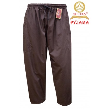 SULTAN MEN'S PYJAMA (SELUAR) - 100% COTTON