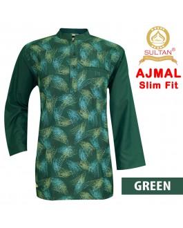 SULTAN KURTA - AJMAL - SLIM FIT - COLLAR FULL SLEEVES