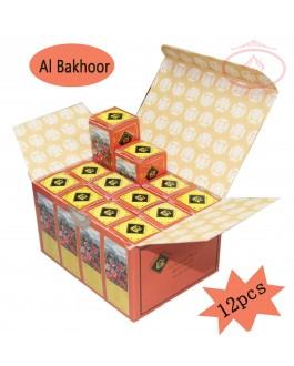 Surrati Concentrated Perfume Oil - 12pecs - 3ML Roll on Bottle - Al Bakhoor