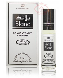 AL Rehab Concentrated perfume oil - Roll on Bottle 6ML - Blanc
