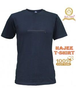 Sultan T-Shirt Baju Haji Lengan Pendek - Haji T-Shirt - Round Neck - Half Sleeves