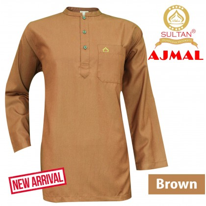 SULTAN KURTA - AJMAL - COLLAR  FULL SLEEVES