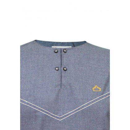 SULTAN KURTA - CASHMERE - ROUND NECK FULL SLEEVES